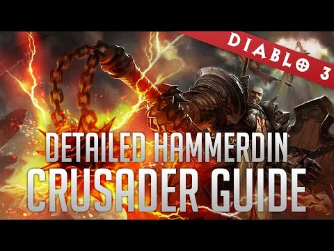 Crusader Hammerdin Build With Blessed Hammer and Seeker of