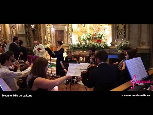 Mecano - Hijo de la Luna SANTUARIO FUENSANTA Bodas MURCIA WEDDING Musical Mastia