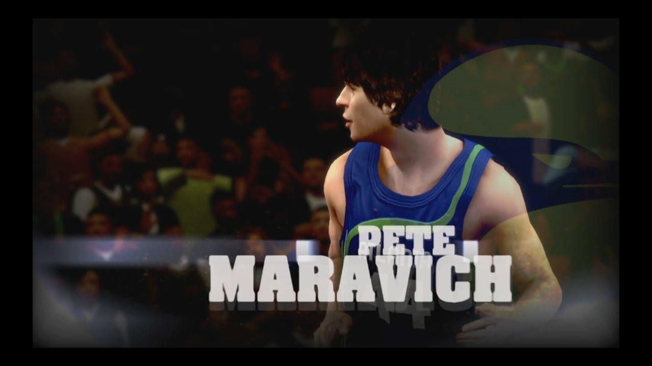 Pistol Pete Maravich Tribute NBA 2K13 Highlights