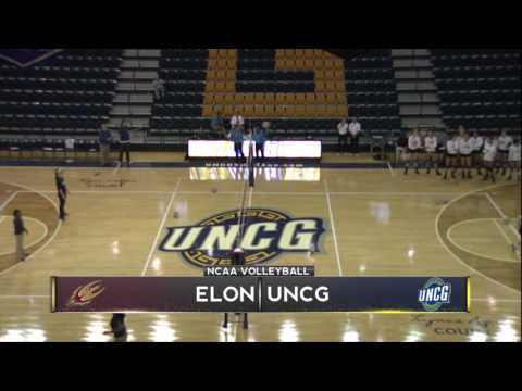 UNCG Volleyball vs. Elon