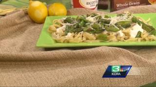 KCRA Kitchen Mixing noodles and nutrition