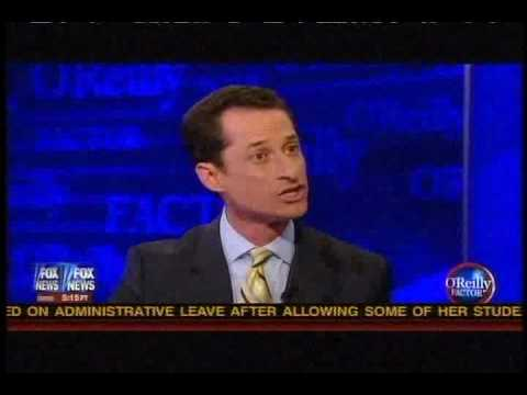 O'Reilly and Congressman Anthony Weiner Shootout