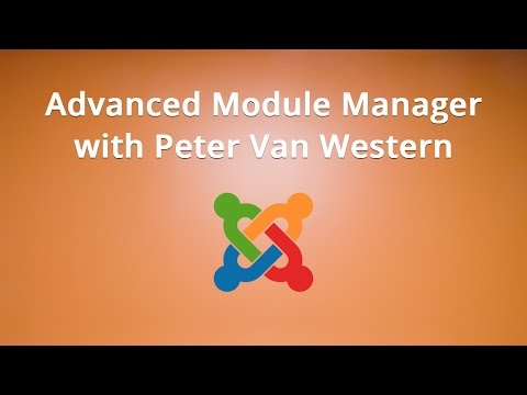 Advanced Module Manager with Peter Van Western