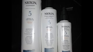 Nioxin Scalp Treatment System for Thinning Hair or Hair loss