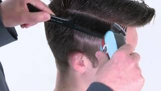 Сайкобилли - видео-урок по базовой мужской стрижке