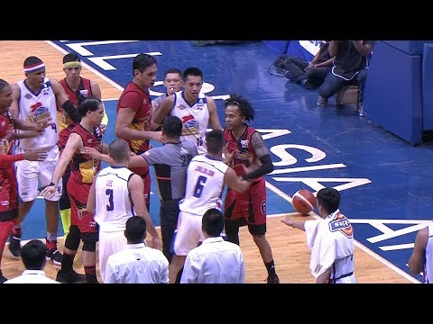 The Action is HEATING UP in Game 5 | PBA Philippine Cup 2018