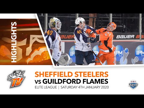 Sheffield Steelers V Guildford Flames - EIHL - 4th January 2020