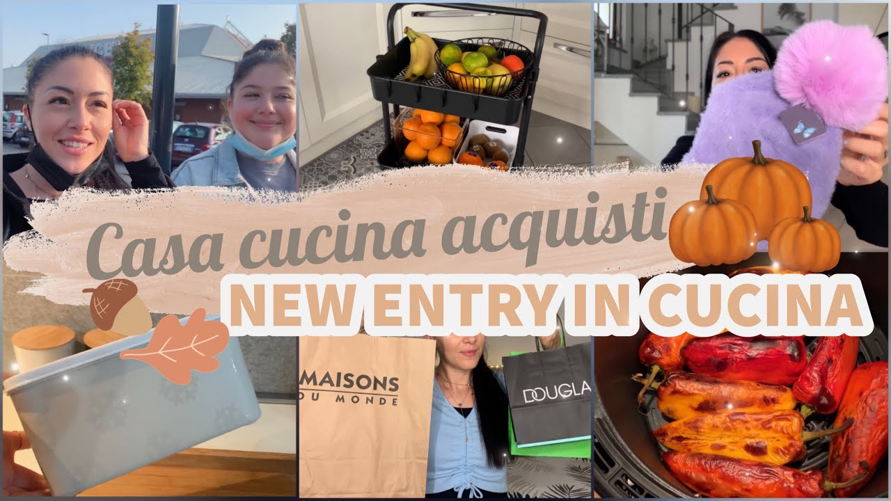 Download VLOG    ACQUISTI maison du monde,douglas, yankee candle   NEW ENTRY  in cucina ✨