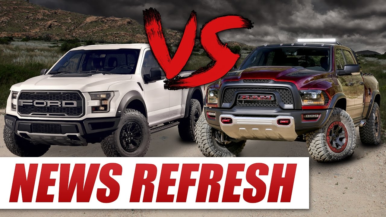 Ram rebel trx vs 2017 ford raptor can the rebel trx dethrone the king youtube