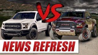 Ram Rebel TRX vs 2017 Ford Raptor: Can the Rebel TRX Dethrone the King?