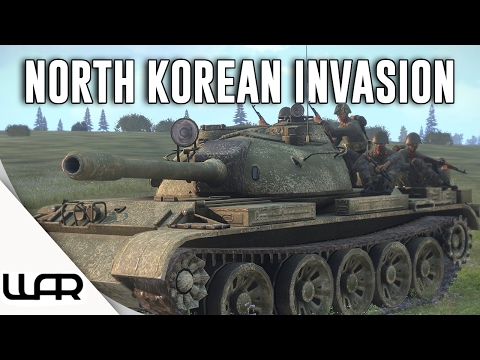 😨 NORTH KOREAN INVASION - ALTERNATE HISTORY - Second Korean War - Episode 3
