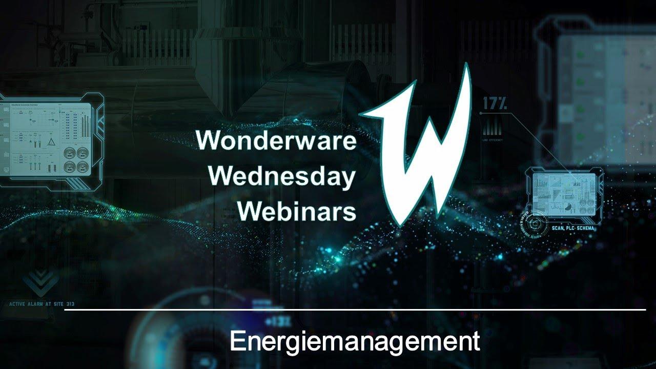 Wonderware Wednesday Webinar : Energy Management