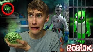 PROFESSOR HAS CAPTURED ALIENS! (Roblox Mad City)