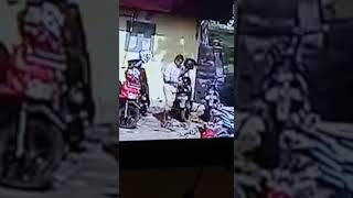 Pencurian Sepeda Motor Ninja di Lhokseumawe 2 Jan 2020
