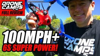 FASTEST DRONE IN THE WORLD? - MERICA 6S - INCREDIBLE REVIEW & FLIGHTS