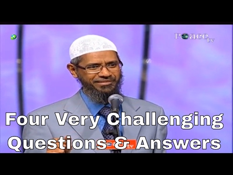 Three Very Challenging Questions | Dr Zakir Naik | Peace TV Live Streaming - 2017