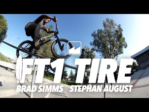 MERRITT BMX: CALIFORNIA STREET WITH THE FT1 TIRE