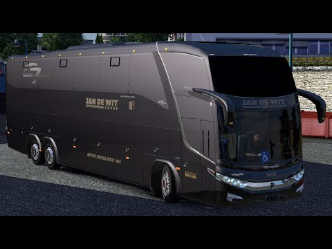 Euro Truck Simulator 2 - BUS MOD with DOWNLOAD