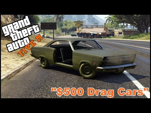 GTA 5 ROLEPLAY - $500 CHEAP DRAG CAR CHALLENGE  - EP. 410 - CIV