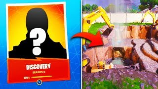 THE *NEW* DISCOVERY SKIN REVEAL in Fortnite! (Fortnite Season 8 Full Storyline EXPLAINED)