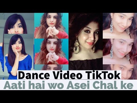 Aati Hai Woh Aise Chal Ke dance Musically Compilation | Tiktok Musically | Best Duet Musically