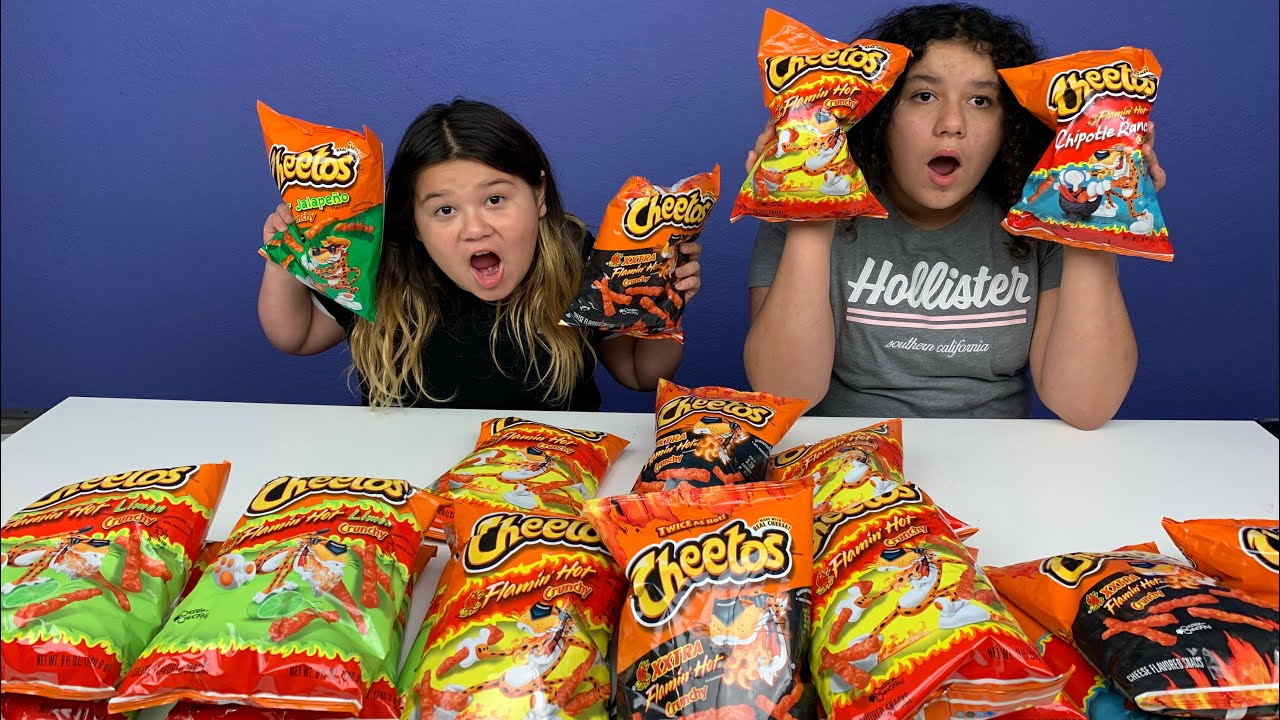 Slime Master Mary And Izzy: Don't Choose The Wrong Hot Cheetos Slime Challenge