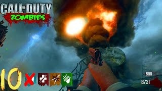 NO REVIVE NUKETOWN WORLD RECORD CHALLENGE! - BLACK OPS 2 ZOMBIES GAMEPLAY