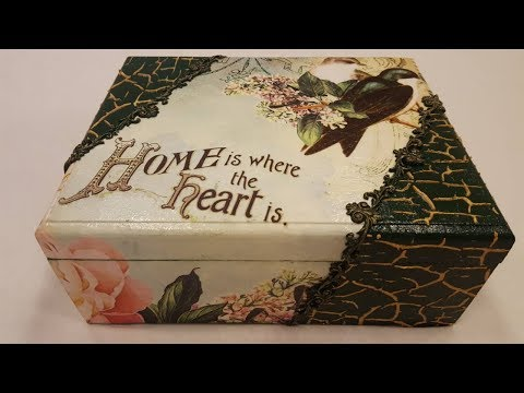 decoupage-box-green-box-with-rice-paper