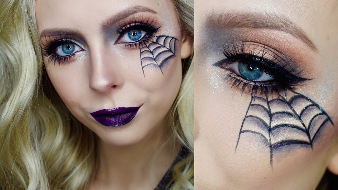 quick easy halloween makeup cosmobyhaley youtube