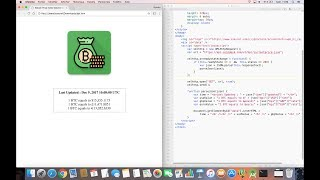Create a Bitcoin Price Index Watcher in HTML5