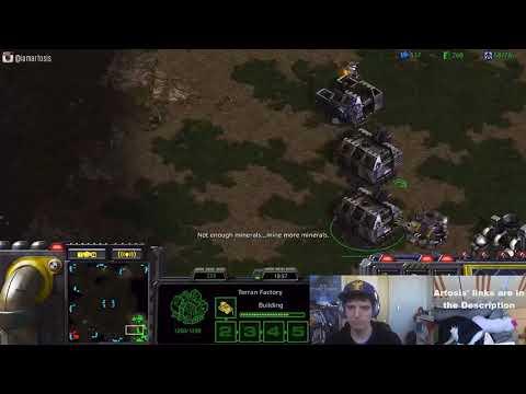 StarCraft: Remastered - 1v1 Artosis' Games of SC:R (T) vs Talent (P) Fighting Spirit