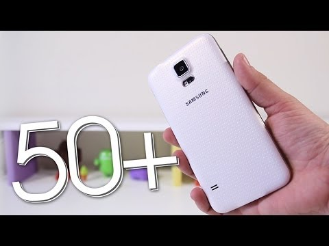 50+ Tips & Tricks for the Samsung Galaxy S5!