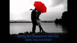 Jake Owen - Anywhere With You (on screen lyrics)