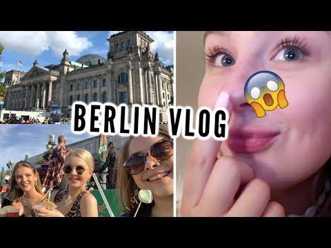 I WENT TO BERLIN & GOT MY NOSE PIERCED?! | travel vlog
