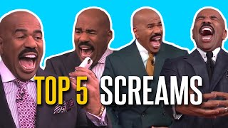 Top 5 Screams 😱😱😱😱😱
