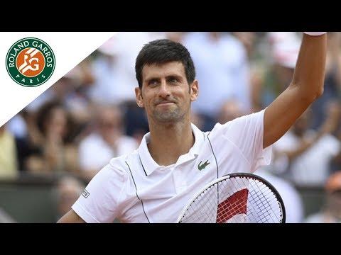 Novak Djokovic vs Rogerio Dutra Silva - Round 1 Highlights I Roland-Garros 2018