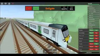 ROBLOX-Mind The Gap-NEW MAINLINE TRAINS!!!!!