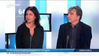 Luc Porta et Lily Abboudi : Un film choral musical européen en 5 langues