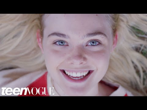 Elle ning Relives Her Dreams Literally in Our Exclusive Teen Vogue Cover Video
