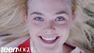 Elle Fanning Relives Her Dreams | Teen Vogue