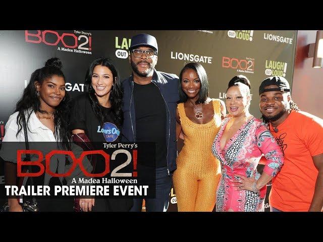 Boo 2! A Madea Halloween - World Premiere Trailer Event Recap (Tyler Perry)