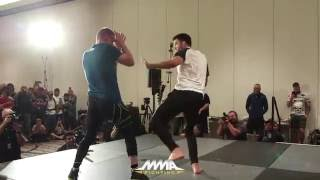 UFC on FOX 21: Carlos Condit Open Workout