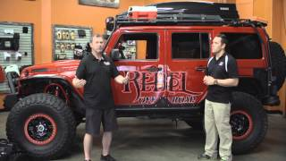 Jeep Jamboree Video Series # 4 – Rebel Off-Road – How to Take Your Vehicle to the Next Level