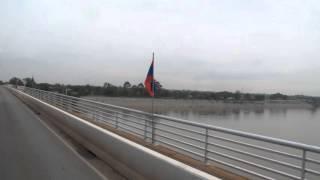 タイのノーンカーイから国際列車で友好橋を渡りラオスのターナレーンへ