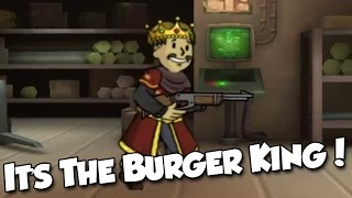 Fallout Shelter Pc Gameplay - It's The Burger King