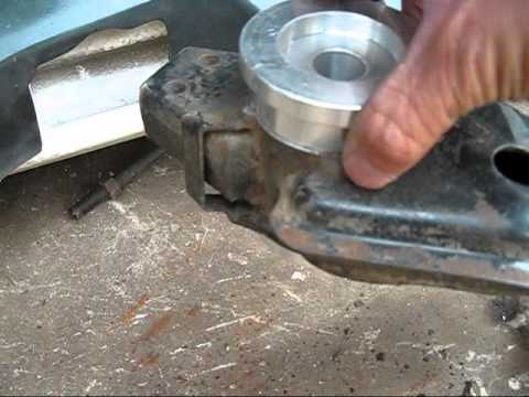 How To Install Nissan 240sx Aluminium Bushing Youtube