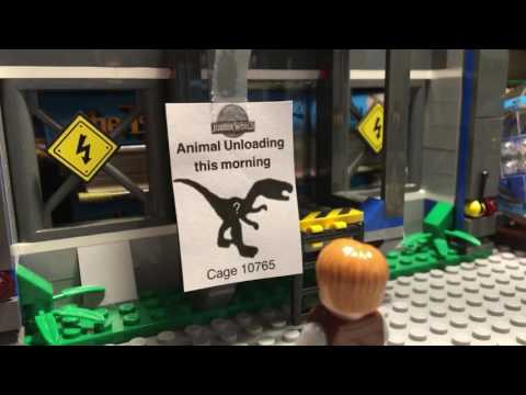 Lego Jurassic World Raptor Escape Short Film