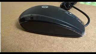 HP X500 Mouse USB Wired Optical Sensor Mouse