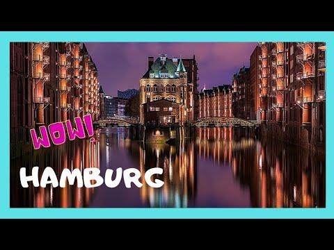 HAMBURG, the beautiful and HISTORIC CANALS (GERMANY)