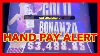 💰💰JACKPOT HAND PAY ON GOLD BONANZA @ San Manuel Casino | NorCal Slot Guy
